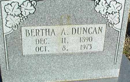 DUNCAN, BERTHA A. - Stone County, Arkansas | BERTHA A. DUNCAN - Arkansas Gravestone Photos