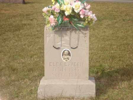 LAVERN, ELBA - Stone County, Arkansas | ELBA LAVERN - Arkansas Gravestone Photos