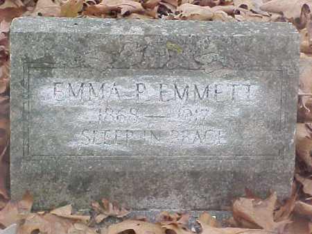 PAYNE EMMETT, EMMA BERNICE - Stone County, Arkansas | EMMA BERNICE PAYNE EMMETT - Arkansas Gravestone Photos