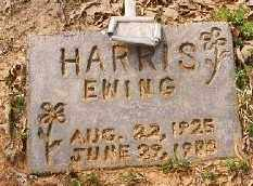 HARRIS, EWING (EUING) - Stone County, Arkansas | EWING (EUING) HARRIS - Arkansas Gravestone Photos