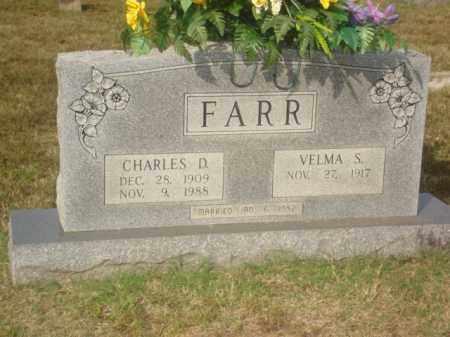 FARR, CHARLES D. - Stone County, Arkansas | CHARLES D. FARR - Arkansas Gravestone Photos