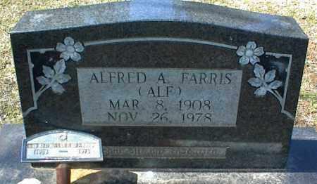FARRIS, ALFRED A. - Stone County, Arkansas | ALFRED A. FARRIS - Arkansas Gravestone Photos