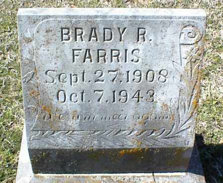 FARRIS, BRADY R. JR. - Stone County, Arkansas | BRADY R. JR. FARRIS - Arkansas Gravestone Photos