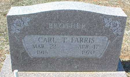 FARRIS, CARL T. - Stone County, Arkansas | CARL T. FARRIS - Arkansas Gravestone Photos