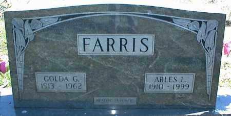 FARRIS, ARLES L. - Stone County, Arkansas | ARLES L. FARRIS - Arkansas Gravestone Photos