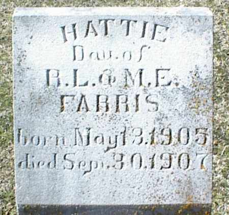 FARRIS, HATTIE - Stone County, Arkansas | HATTIE FARRIS - Arkansas Gravestone Photos