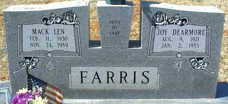 DEARMORE FARRIS, JOY - Stone County, Arkansas | JOY DEARMORE FARRIS - Arkansas Gravestone Photos
