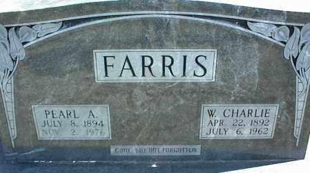 FARRIS, PEARL A. - Stone County, Arkansas | PEARL A. FARRIS - Arkansas Gravestone Photos