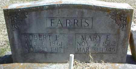 FARRIS, ROBERT L. - Stone County, Arkansas | ROBERT L. FARRIS - Arkansas Gravestone Photos