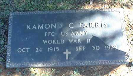 FARRIS (VETERAN WWII), RAMOND C - Stone County, Arkansas | RAMOND C FARRIS (VETERAN WWII) - Arkansas Gravestone Photos