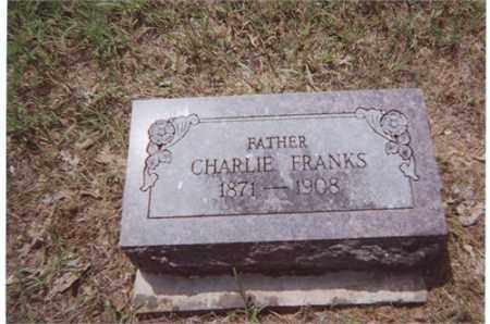 "FRANKS, E. CHARLES ""CHARLIE"" - Stone County, Arkansas 