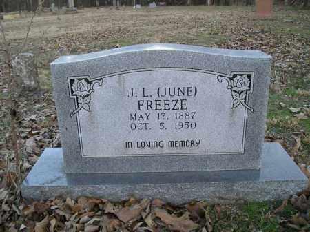 FREEZE, J. L. JUNE - Stone County, Arkansas | J. L. JUNE FREEZE - Arkansas Gravestone Photos