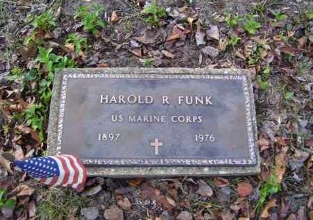 FUNK (VETERAN), HAROLD R. - Stone County, Arkansas | HAROLD R. FUNK (VETERAN) - Arkansas Gravestone Photos