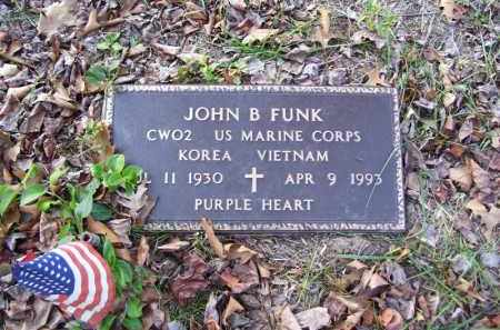 FUNK (VETERAN 2 WARS), JOHN B. - Stone County, Arkansas | JOHN B. FUNK (VETERAN 2 WARS) - Arkansas Gravestone Photos