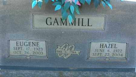 GAMMILL, EUGENE - Stone County, Arkansas | EUGENE GAMMILL - Arkansas Gravestone Photos