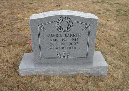 GAMMILL, GLENDLE - Stone County, Arkansas | GLENDLE GAMMILL - Arkansas Gravestone Photos