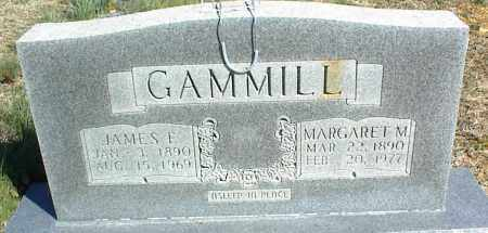 GAMMILL, MARGARET M. - Stone County, Arkansas | MARGARET M. GAMMILL - Arkansas Gravestone Photos