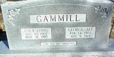 GAMMILL, LULA - Stone County, Arkansas | LULA GAMMILL - Arkansas Gravestone Photos