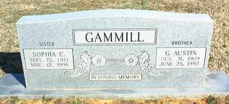 GAMMILL, SOPHIA C. - Stone County, Arkansas | SOPHIA C. GAMMILL - Arkansas Gravestone Photos