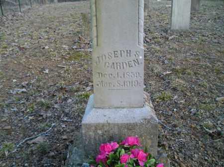 GARDEN, JOSEPH S. - Stone County, Arkansas | JOSEPH S. GARDEN - Arkansas Gravestone Photos