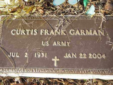 GARMAN (VETERAN), CURTIS FRANK - Stone County, Arkansas | CURTIS FRANK GARMAN (VETERAN) - Arkansas Gravestone Photos
