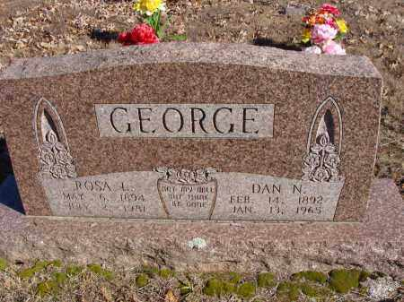 TREAT GEORGE, ROSA - Stone County, Arkansas | ROSA TREAT GEORGE - Arkansas Gravestone Photos