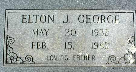 GEORGE, ELTON J. - Stone County, Arkansas | ELTON J. GEORGE - Arkansas Gravestone Photos