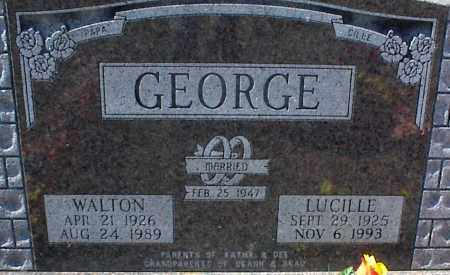 GEORGE, LUCILLE - Stone County, Arkansas | LUCILLE GEORGE - Arkansas Gravestone Photos