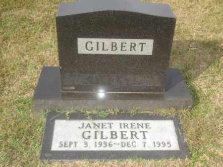 GILBERT, JANET IRENE - Stone County, Arkansas | JANET IRENE GILBERT - Arkansas Gravestone Photos