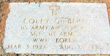 GILBERT (VETERAN 2 WARS), COLEY - Stone County, Arkansas | COLEY GILBERT (VETERAN 2 WARS) - Arkansas Gravestone Photos