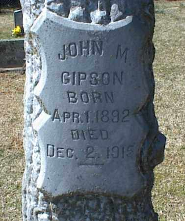 GIPSON, JOHN M. - Stone County, Arkansas | JOHN M. GIPSON - Arkansas Gravestone Photos