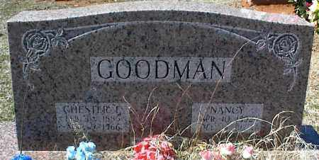 GOODMAN, CHESTER F. - Stone County, Arkansas | CHESTER F. GOODMAN - Arkansas Gravestone Photos