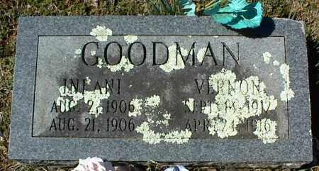 GOODMAN, VERNON - Stone County, Arkansas | VERNON GOODMAN - Arkansas Gravestone Photos