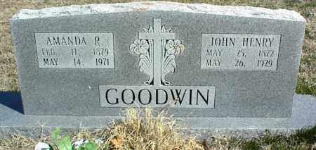 GOODWIN, JOHN HENRY - Stone County, Arkansas | JOHN HENRY GOODWIN - Arkansas Gravestone Photos