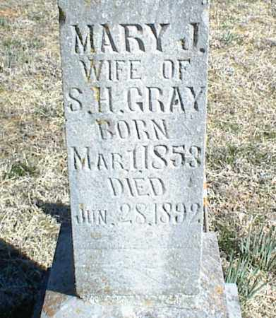 GRAY, MARY J. - Stone County, Arkansas | MARY J. GRAY - Arkansas Gravestone Photos