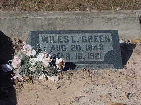 GREEN, WILES - Stone County, Arkansas | WILES GREEN - Arkansas Gravestone Photos