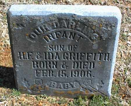 GRIFFITH, INFANT SON - Stone County, Arkansas | INFANT SON GRIFFITH - Arkansas Gravestone Photos