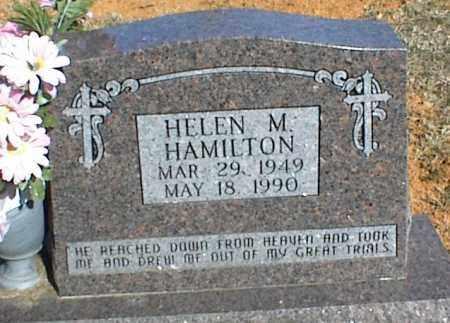 HAMILTON, HELEN M. - Stone County, Arkansas | HELEN M. HAMILTON - Arkansas Gravestone Photos