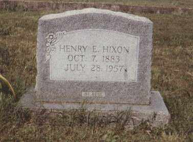 HIXSON, HENRY EDWARD - Stone County, Arkansas | HENRY EDWARD HIXSON - Arkansas Gravestone Photos