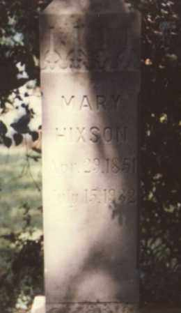 NELSON HIXSON, MARY - Stone County, Arkansas | MARY NELSON HIXSON - Arkansas Gravestone Photos