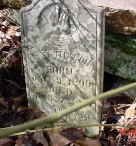 HIXSON, W. H. - Stone County, Arkansas | W. H. HIXSON - Arkansas Gravestone Photos