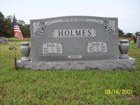 HOLMES, WILLIE C - Stone County, Arkansas | WILLIE C HOLMES - Arkansas Gravestone Photos