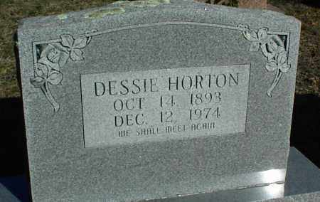 HORTON, DESSIE - Stone County, Arkansas | DESSIE HORTON - Arkansas Gravestone Photos