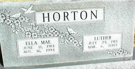 HORTON, LUTHER - Stone County, Arkansas | LUTHER HORTON - Arkansas Gravestone Photos