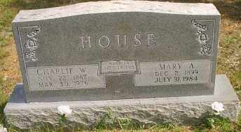 HOUSE, MARY A. - Stone County, Arkansas | MARY A. HOUSE - Arkansas Gravestone Photos