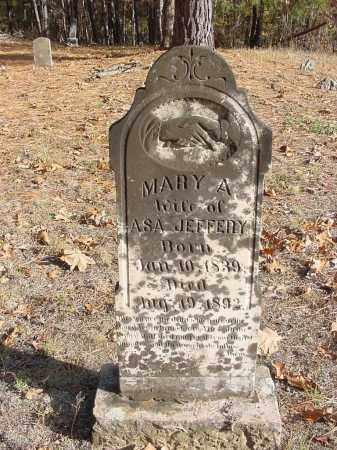 JEFFERY, MARY - Stone County, Arkansas | MARY JEFFERY - Arkansas Gravestone Photos