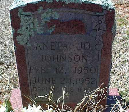 JOHNSON, ANETA JO - Stone County, Arkansas | ANETA JO JOHNSON - Arkansas Gravestone Photos