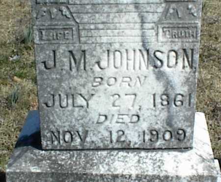JOHNSON, J. M. - Stone County, Arkansas | J. M. JOHNSON - Arkansas Gravestone Photos