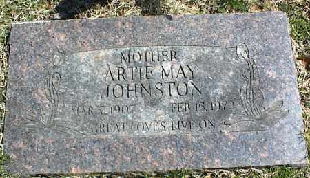 JOHNSTON, ARTIE MAY - Stone County, Arkansas | ARTIE MAY JOHNSTON - Arkansas Gravestone Photos