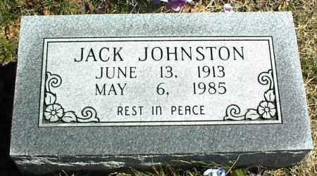 JOHNSTON, JACK - Stone County, Arkansas | JACK JOHNSTON - Arkansas Gravestone Photos